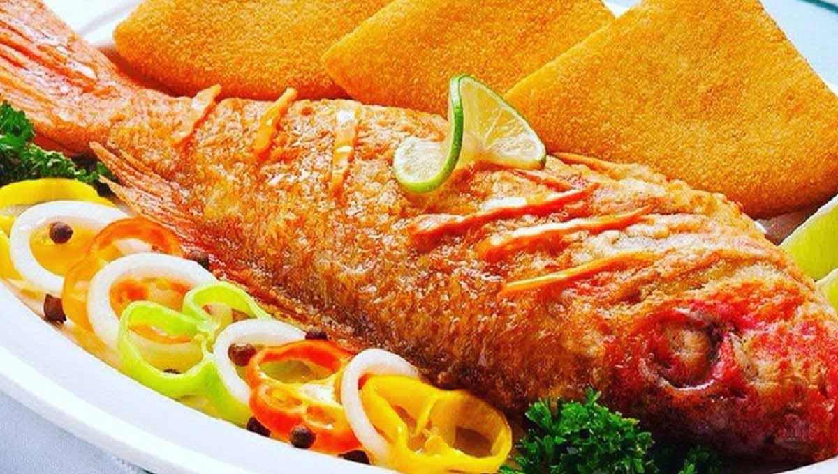 طرز تهیه ماهی سرخوی سرخ شده به روش جنوبی
