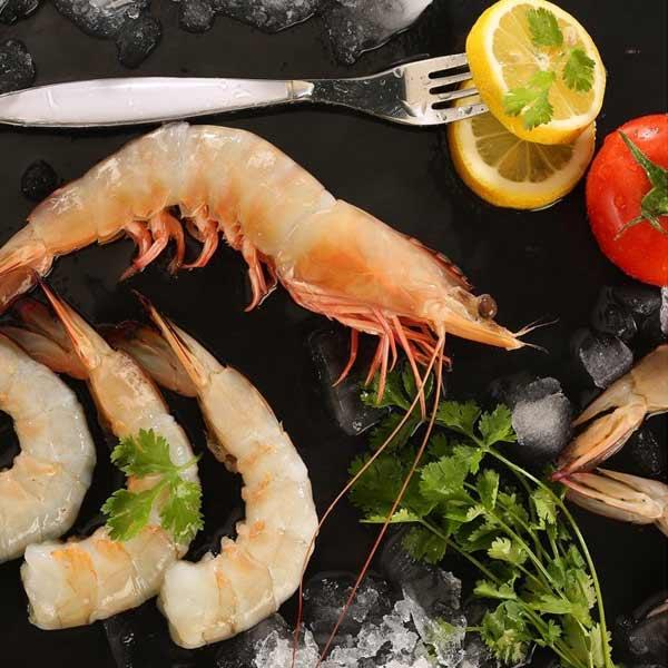 شاه میگو پاک نشده برای فروش در وبسایت ماهی مشتا