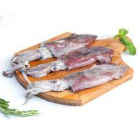 کالاماری پاک نشده برای فروش در وبسایت ماهی مشتا