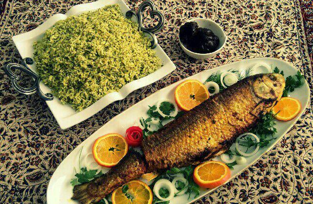 بهترین روش های پخت ماهی شکم پر