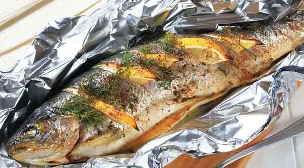 عکس ماهی شکم پر