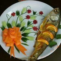 بهترین روشهای پخت ماهی شکمپر