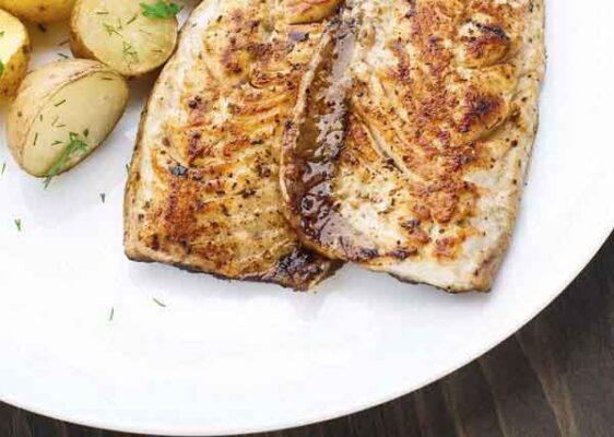 تصویر ماهی کبابی