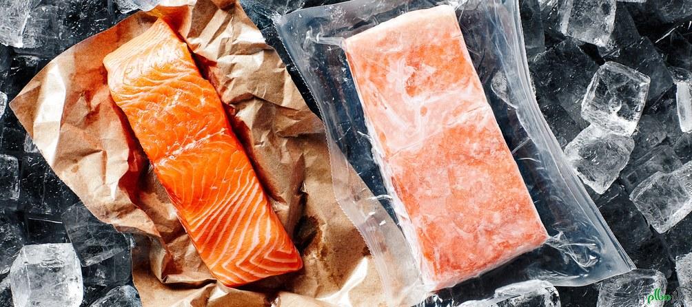 ماهی گرم بهتر است یا ماهی منجمد؟
