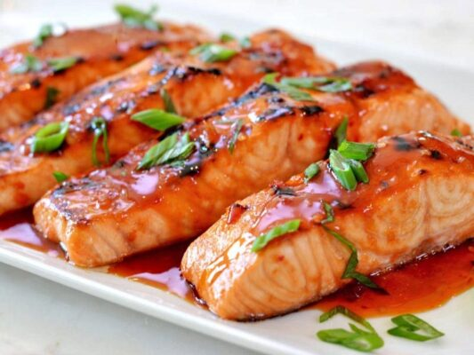 دستور پخت ماهی قزل آلای رژیمی