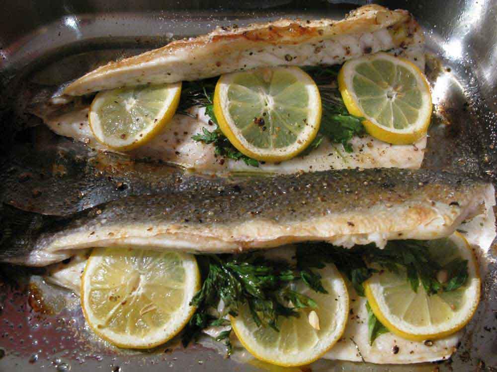 تهیه ماهی بدون بو