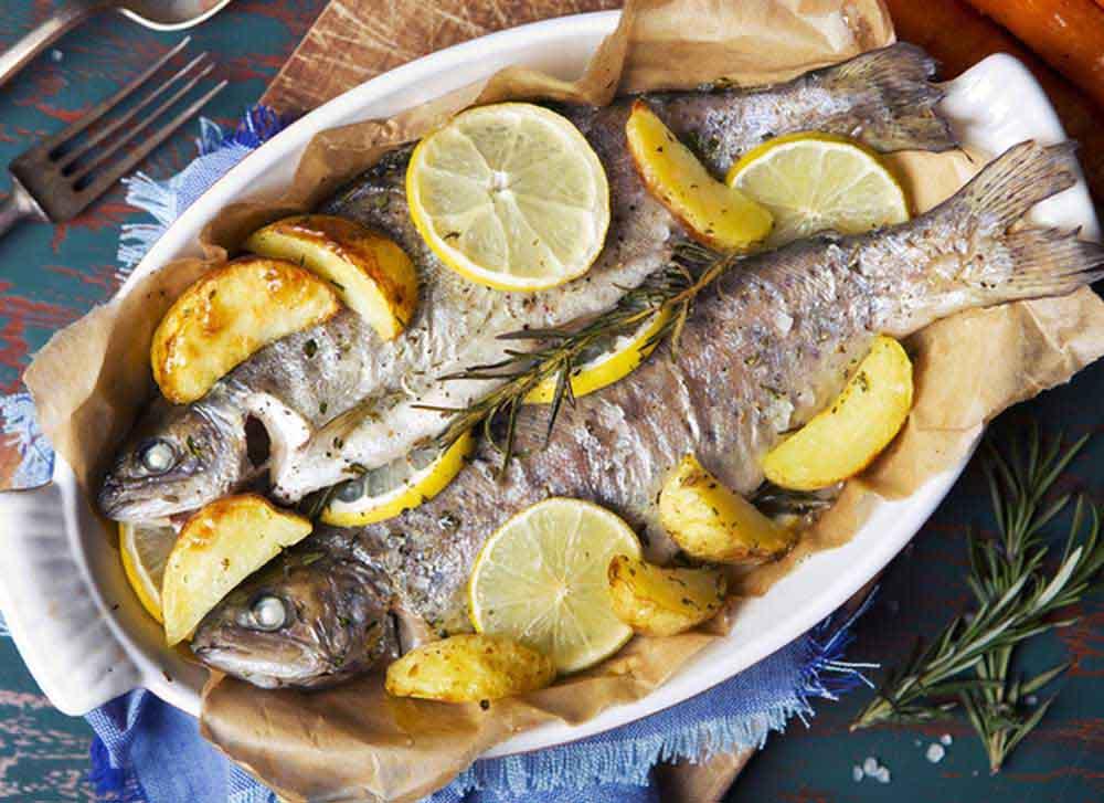 طرز پخت ماهی راشگو