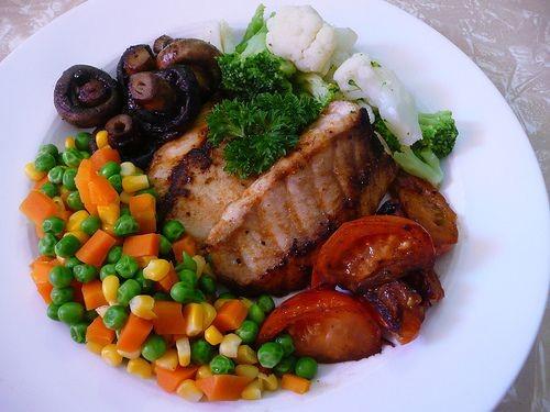 پخت ماهی رژیمی