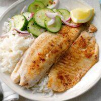 پخت ماهی رستورانی در خانه با رعایت نکات طلایی طبخ ماهی