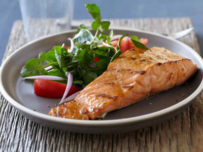 پخت ماهی بدون روغن