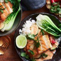 دستور آسان فیله ماهی گریل تایلندی در 15 دقیقه