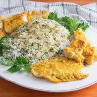 سبزی پلو با ماهی، محبوبترین روش پخت و سرو ماهی