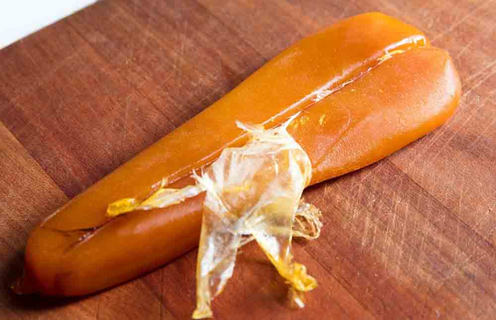 اشپل شور یکی از روشهای خوب نگهداری تخم ماهی است.