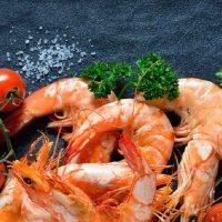 2 روش عالی پخت میگو رژیمی با سبزیجات