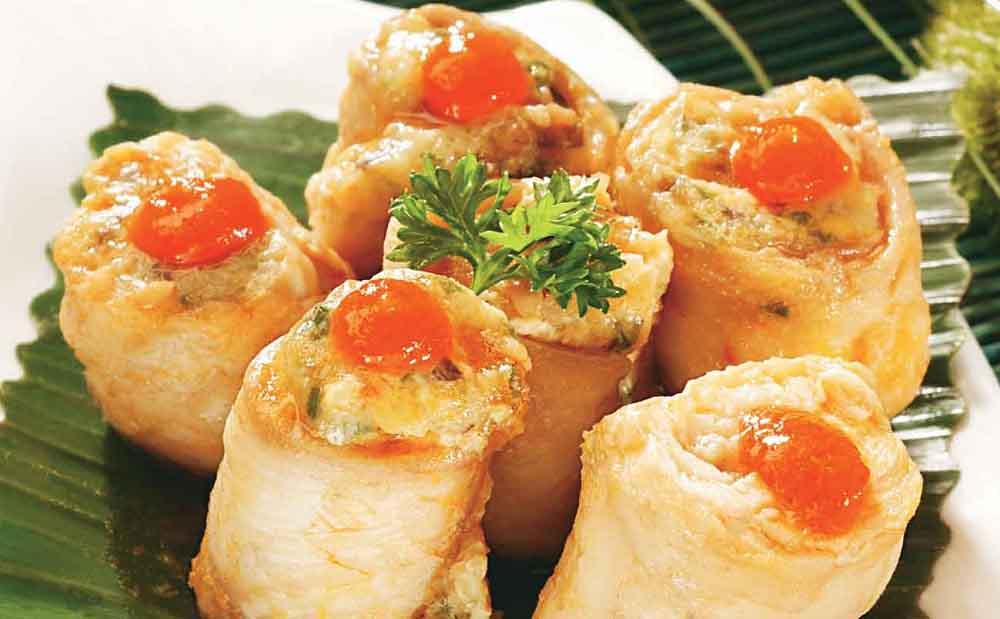 پخت رول ماهی