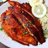 شوید پلو با ماهی با دو روش عالی دم کردن برنج و پخت ماهی