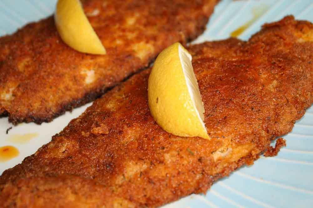 شنیسل ماهی برای کودکان بپزید