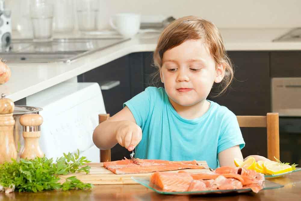 پخت ماهی برای کودکان