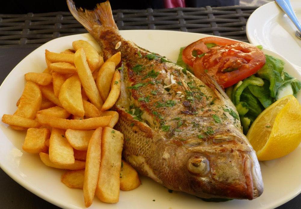 طرز پخت ماهی سنگسر کبابی