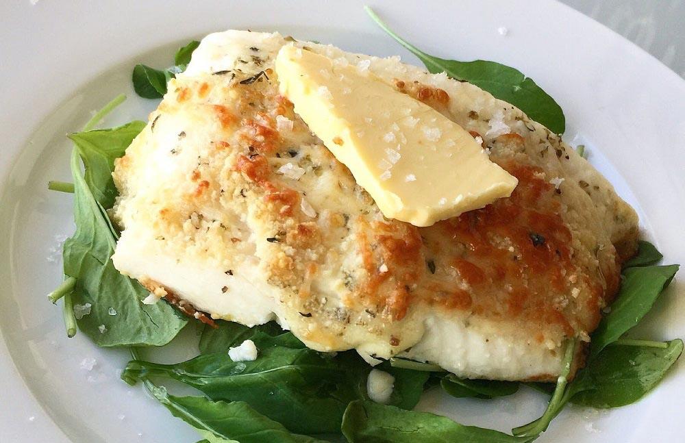 ماهی کفشک خوشمزه با کره
