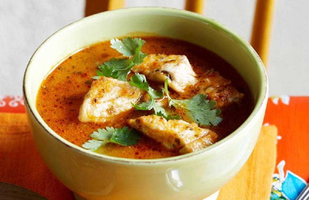 سوپ و پخت ماهی کفشک