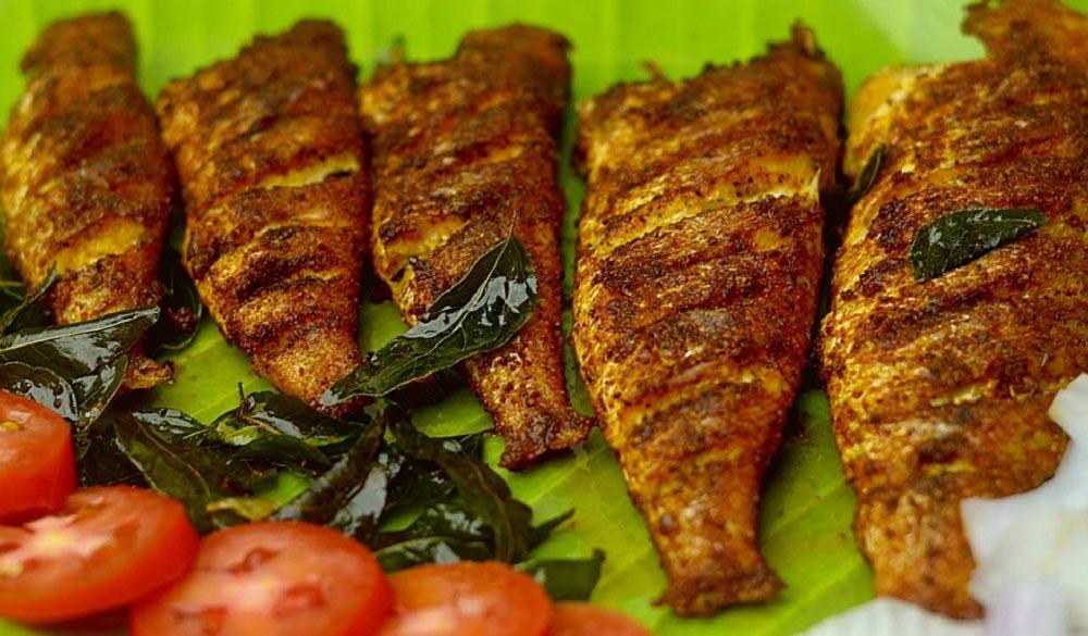 طرز پخت ماهی هامور کبابی